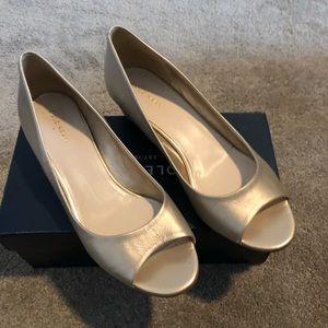 Cole Haan Elsie peep toe shoe 8 M